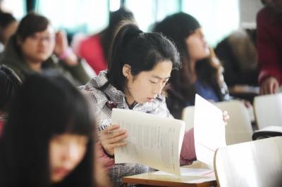深圳考生和家长早有准备淡定备考