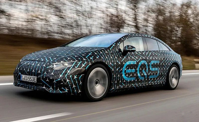年底上市 奔驰EQS能否重新定义豪华电动车?