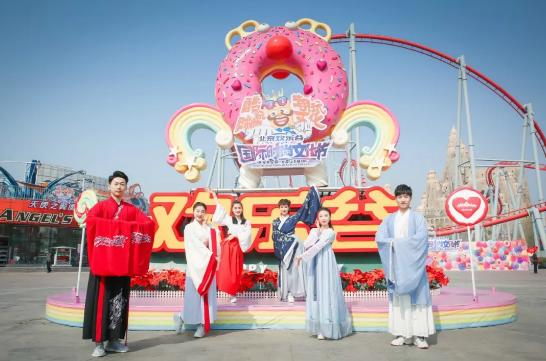 """原来可以这样玩,2021京津欢乐谷""""国潮文化节""""来啦"""